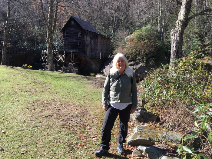 me at the Glade Creek Grist Mill