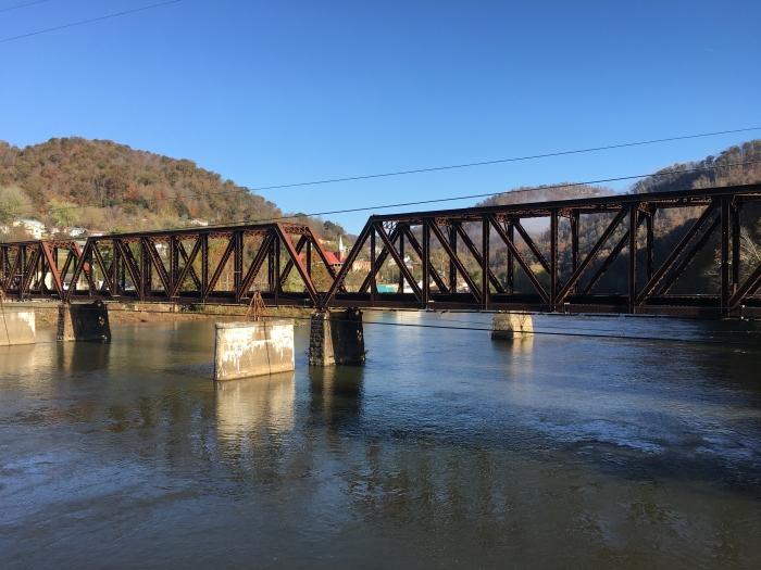 The Gauley River Bridge