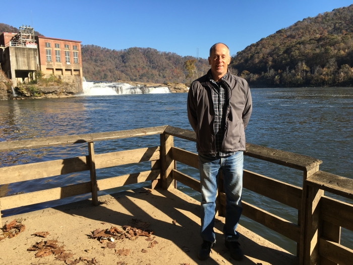 Mike at Kanawha Falls