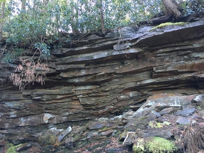 canyon walls at Elakal