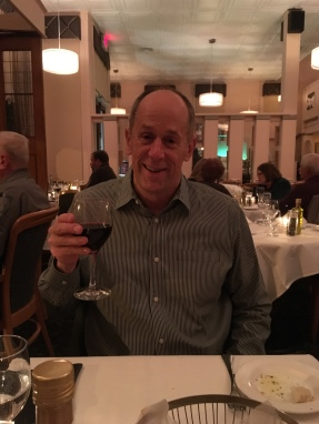 Mike at Zeffirelli on our anniversary