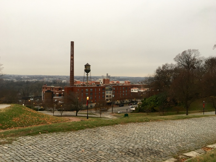 Looking to the James River from Church Hill