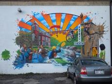 Street art in Fayetteville