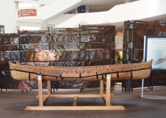 Ojibwe Birch Bark Canoe