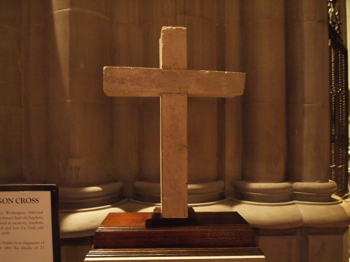 The Pentagon cross