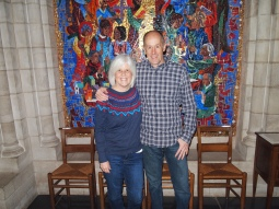 Mike and me at the Cathedral