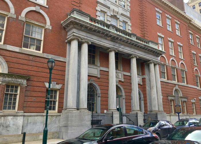 facade in Philadelphia