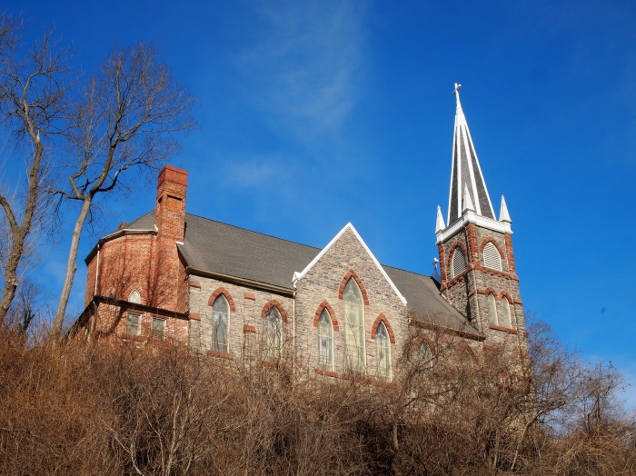 St. Peter's Roman Catholic Church in Harper's Ferry, West Virginia