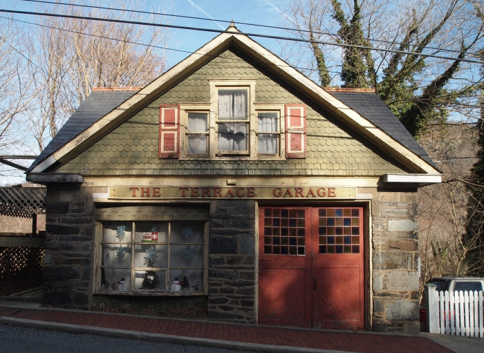 The Terrace Garage - Harper's Ferry