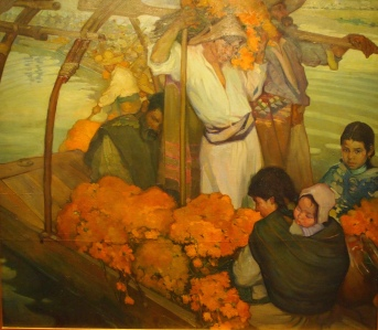 The Offering by Saturnino Herran