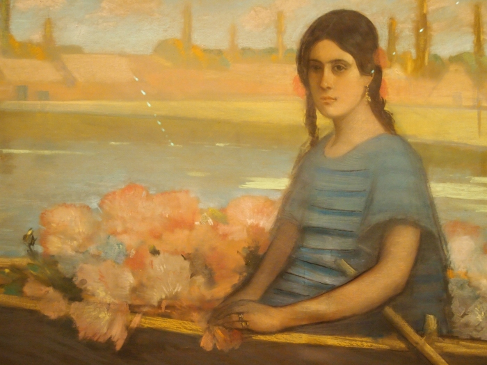 Flower Seller (c. 1916) by Alfredo Ramos Martinez