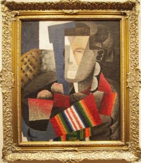 Portrait of Martin Luis Guzman (1915) by Diego Rivera