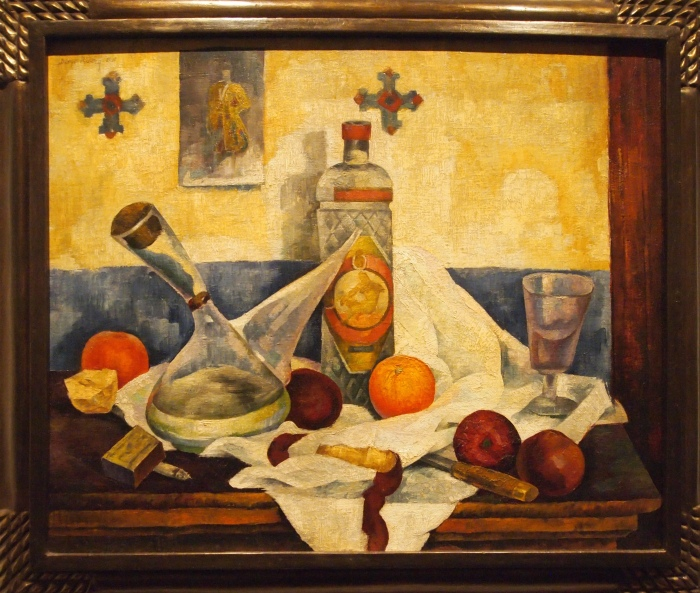 Still LIfe with a Bottle of Anise (1918) - Diego Rivera