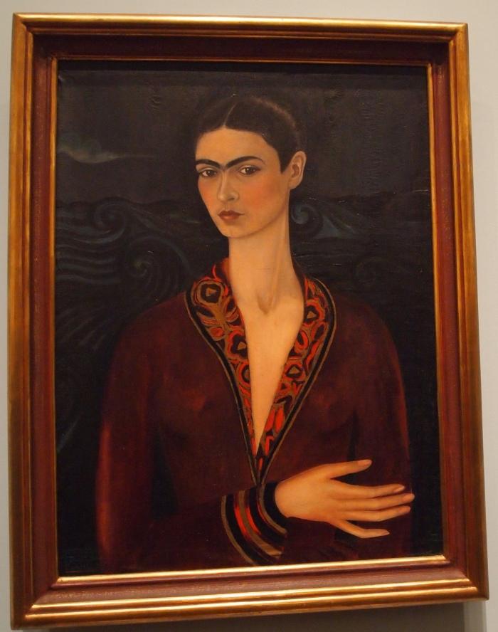 Self-Portrait in Velvet (1926) - Frida Kahlo