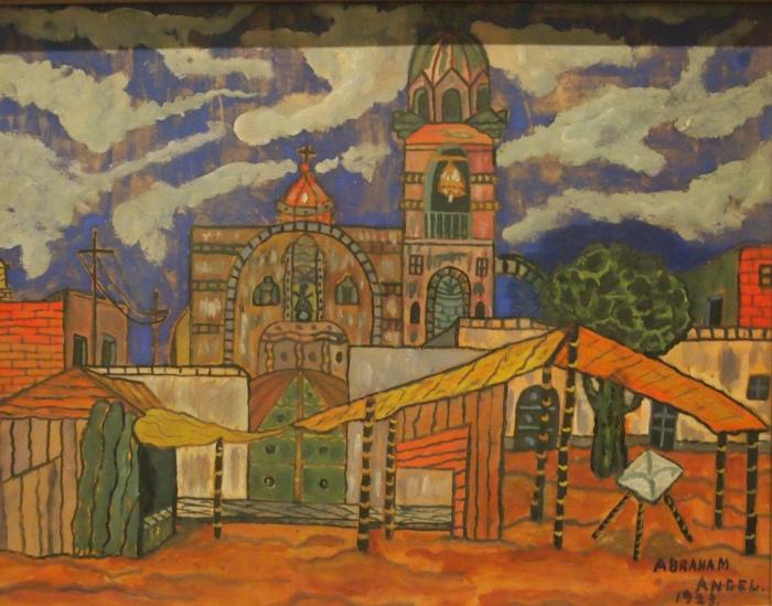 Tepito Landscape (1923) - Abraham Angel