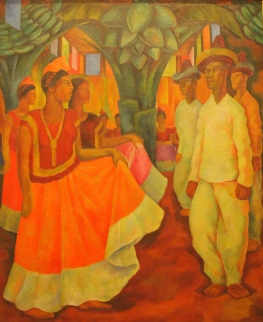 Dance in Tehuantepec (1928) - Diego Rivera