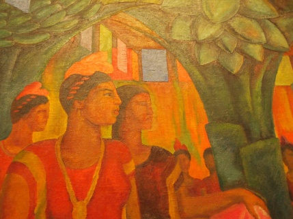Detail - Dance in Tehuantepec