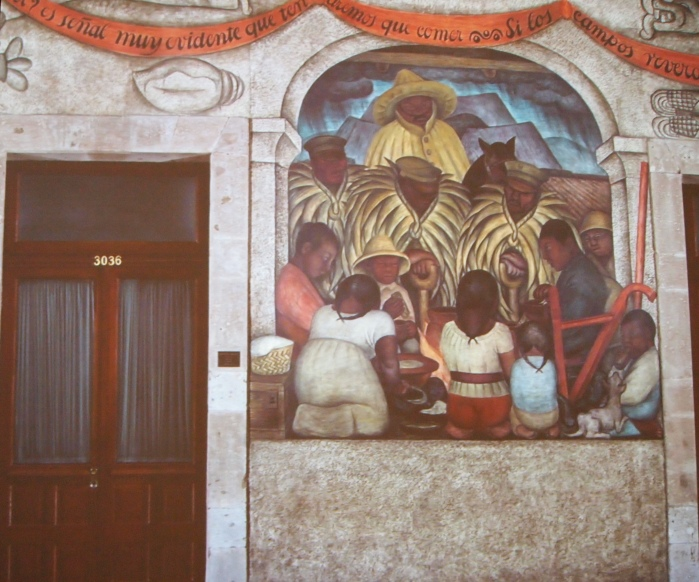 Ballad of the Agricultural Revolution - Diego Rivera
