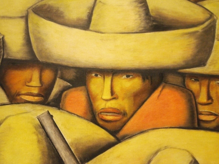 Detail of Zapatistas
