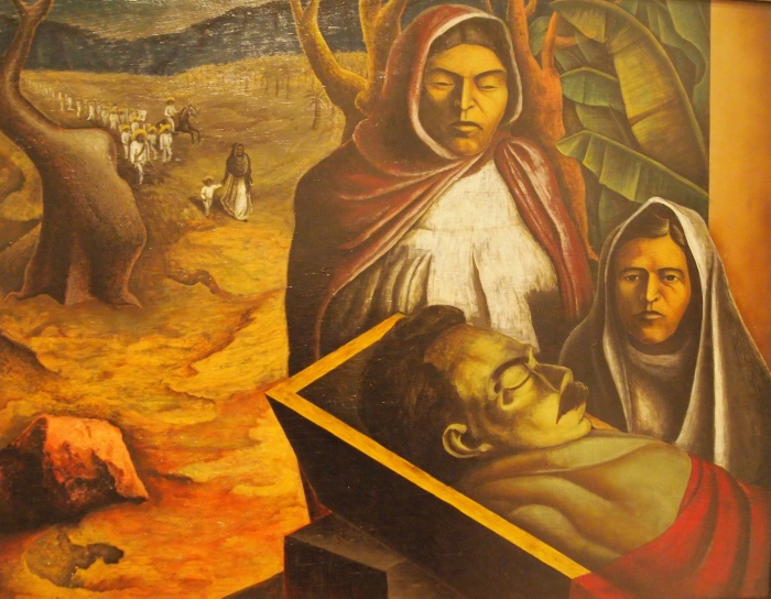 The Death of Zapata (1937) - Luis Arenal Bastar