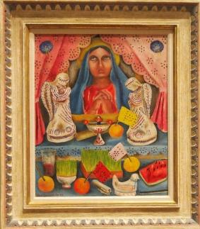 Altar de Dolores (Altar [for the Virgin] of Sorrows) - 1943 - Maria Izquierdo