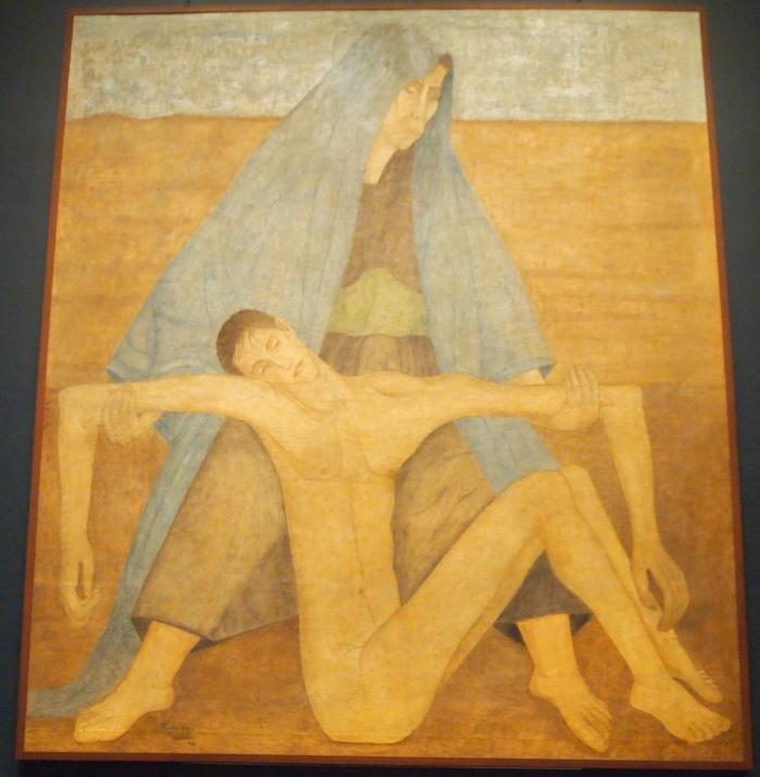 Pieta in the Desert (1942) - Manuel Rodriguez Lozano