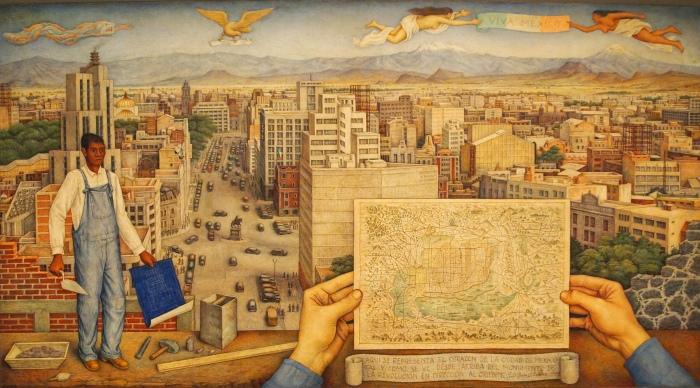 Mexico City (1949) - Juan O'Gorman