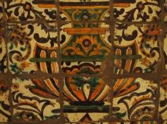 Detail mosaic tiles