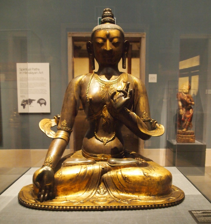White Tara, Buddhist Goddess of Compassion