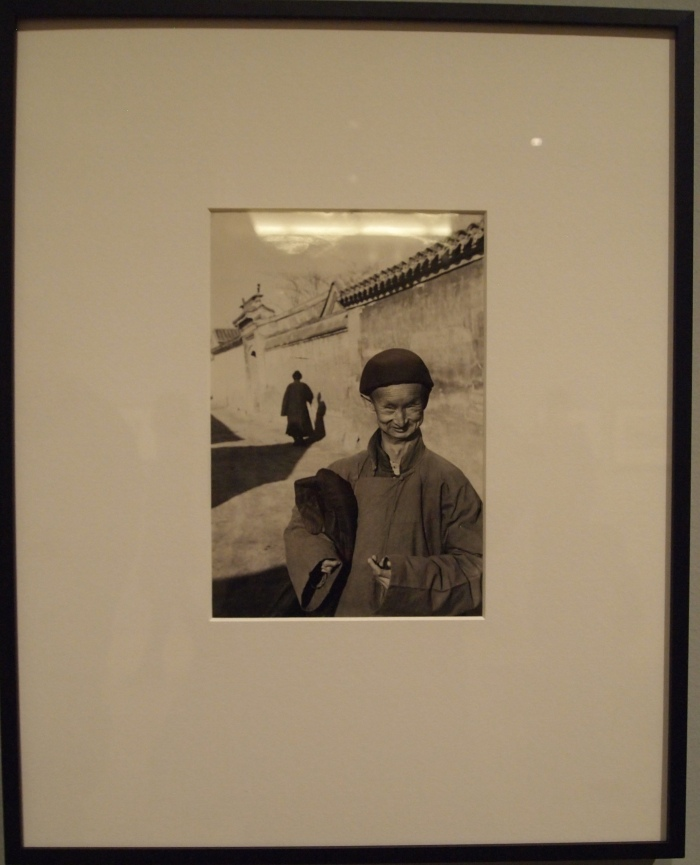 A Eunuch of the Imperial Court of the Last Dynasty, Peking (1949) - Henri Cartier-Bresson