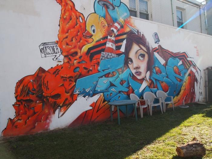 Mural in South Philadelphia - near Magic Gardens