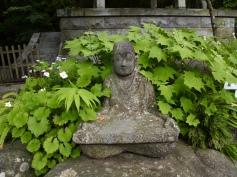 rakan statues at Choanji Temple
