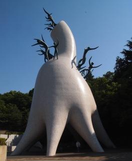 sculpture by Tarō Okamoto