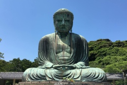 Daibutsu, the Great Buddha of Kamakura