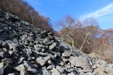 talus slope