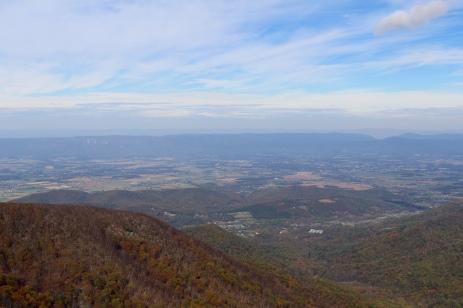 views from Hawksbill