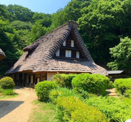 The Emukai House at the Japan Open-Air Folk House Museum