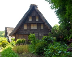 The Yamada House at the Japan Open-Air Folk House Museum