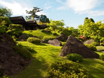 Sekiraku-en Garden at the Hakone Museum of Art