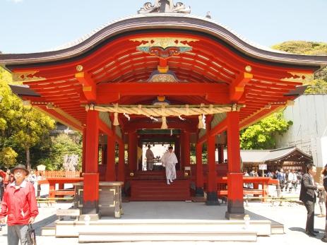 Shimo Haiden in Kamakura