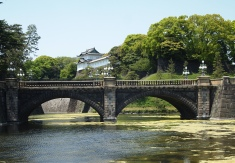 Nijubashi Bridge & Fushimi Yagura at the Imperial Palace Outer Gardens