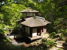 Choshu-kaku Teahouse at Sankei-en