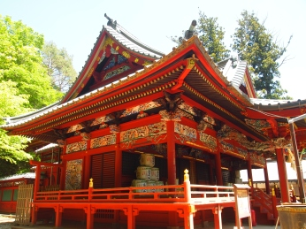 Izuna Gongen-do Hall at Mt. Takao