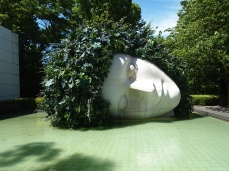 La Pleureuse (1986) at the Hakone Open Air Museum