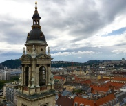 view from St. Stephen's Basilica