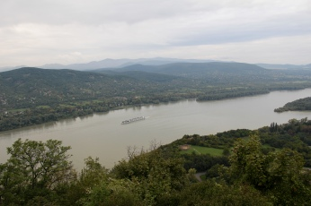 view from Fellegvar in Visegrad