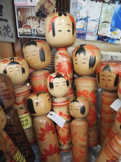 Kokeshi Dolls in Miyajima