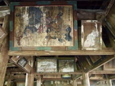 Painting at Senjokaku Pavilion
