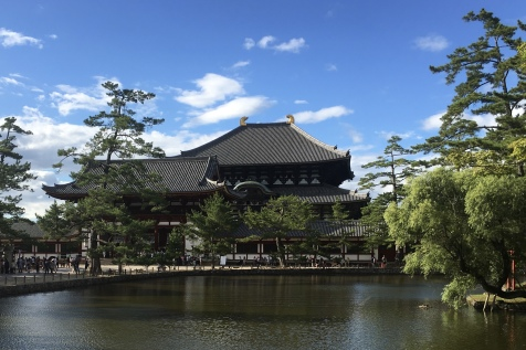 pond at Todaiji Temple
