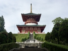 Great Pagoda of Peace at Naritasan Shinshoji Temple